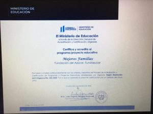 Social Programs of the Sugar Foundation were certified and accredited